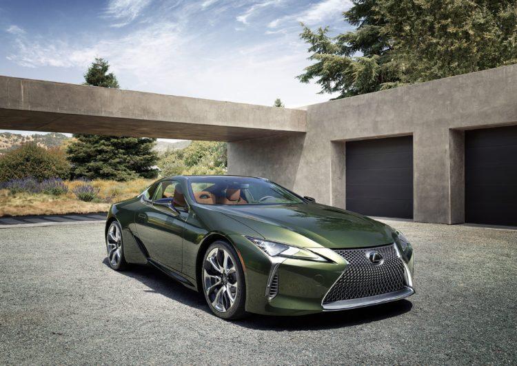 Lexus LC hybride 2021