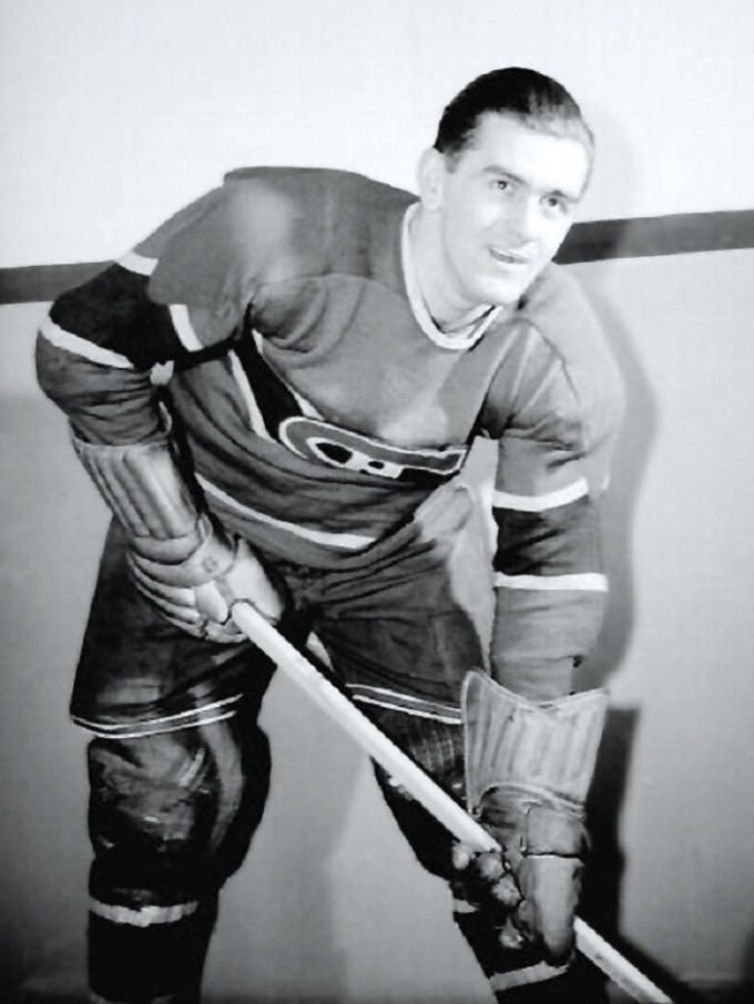 Maurice Richard en 1945