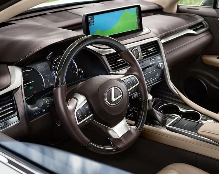 Le Lexus NX vs RX 2