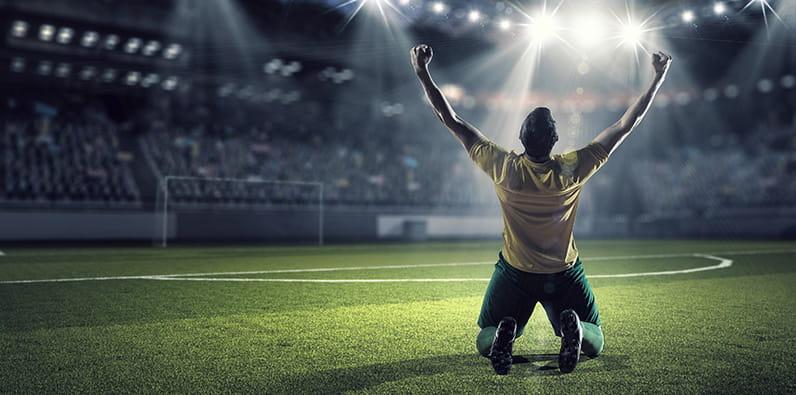 Star du football Neymar