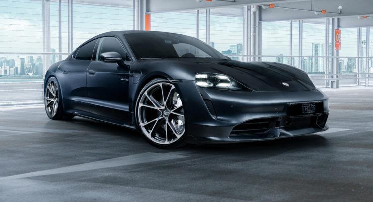 Jantes Porsche différentes de celles des autres voitures