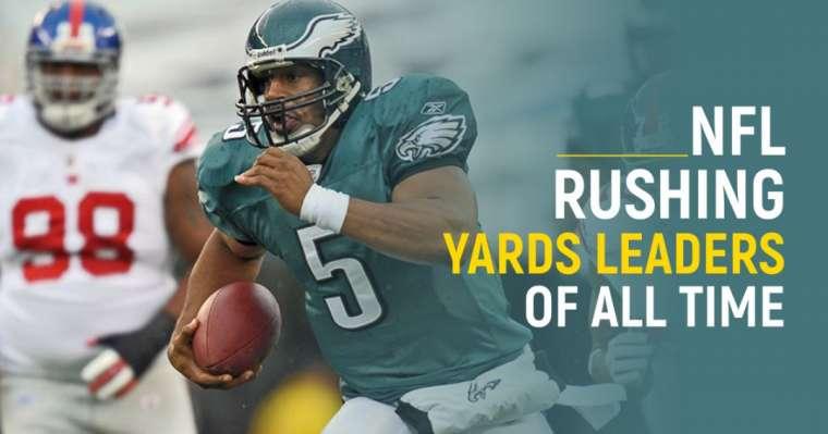 Top 10 des leaders NFL Rushing Yards de tous les temps