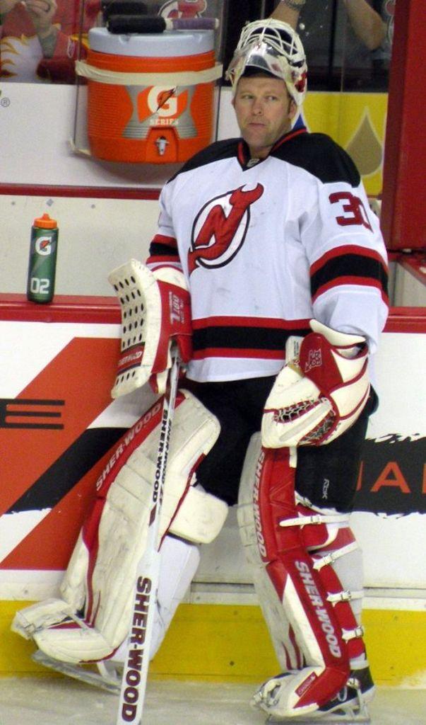 Martin Brodeur avec les Devils du New Jersey 2012