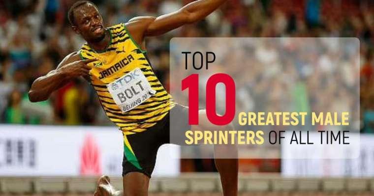 Top 10 des meilleurs sprinteurs masculins de tous les temps