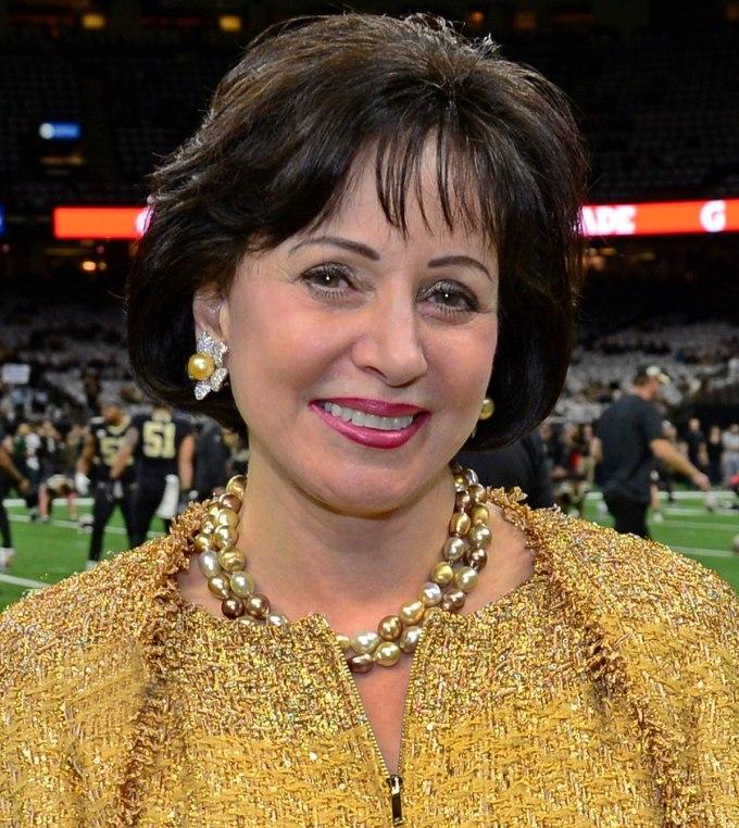 Gayle Benson, propriétaire des New Orleans Saints de la NFL
