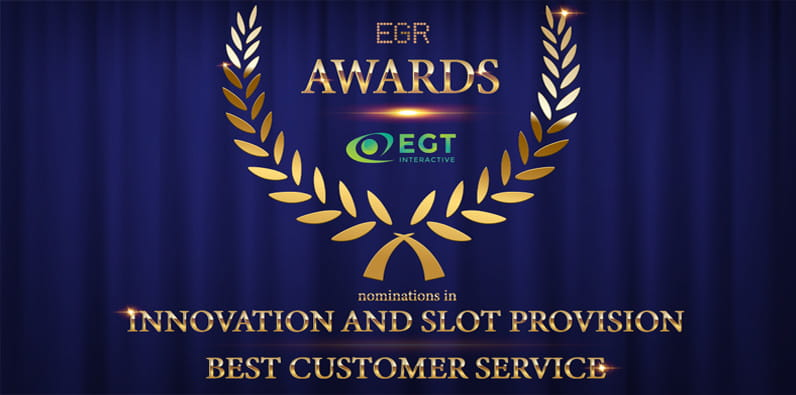 Nomination EGT Interactive pour le prix EGR en innovation