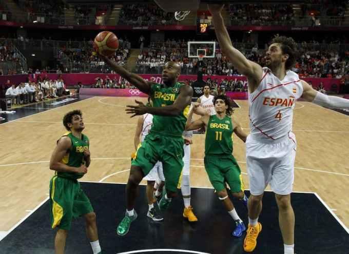 Photo du sport de basket-ball au Brésil