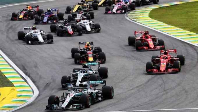 Photo du sport de Formule 1 (F1) - Grand Prix du Brésil