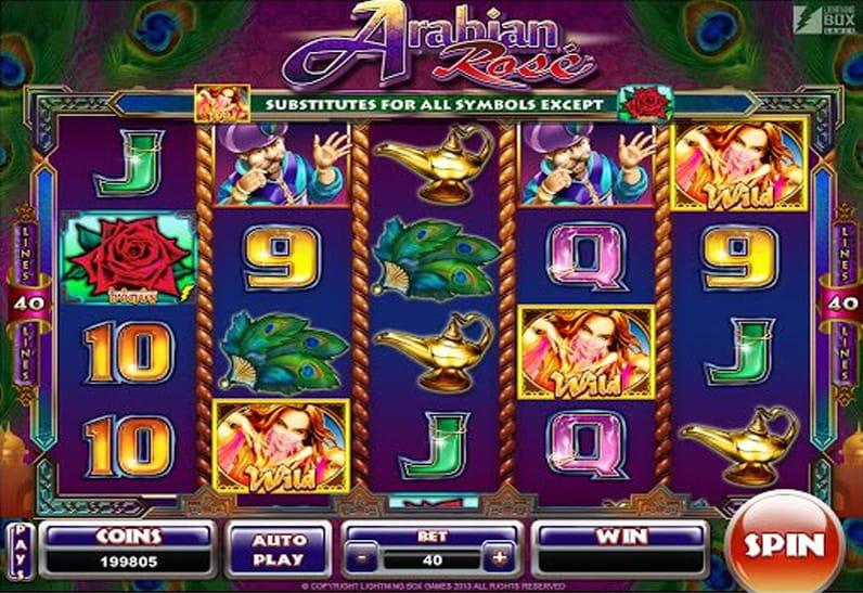 Gameplay de Arabian Rose