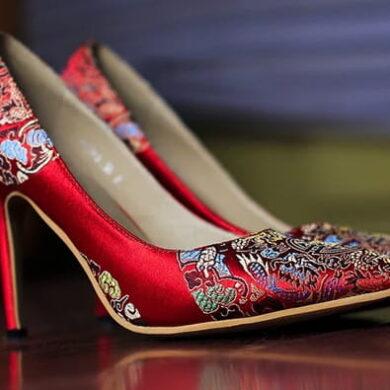 Inspiration de chaussures de blackjack