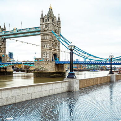 Marathon de Londres Tower Bridge Run