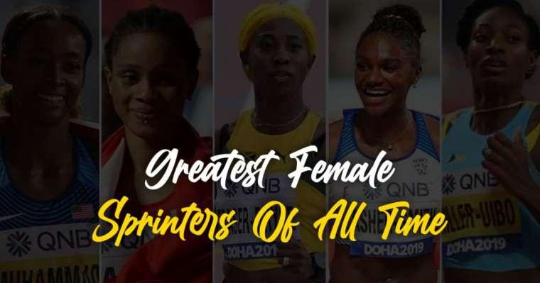 Top 10 des meilleures sprinteuses féminines de tous les temps