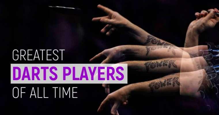 Top 10 des meilleurs joueurs de fléchettes de tous les temps