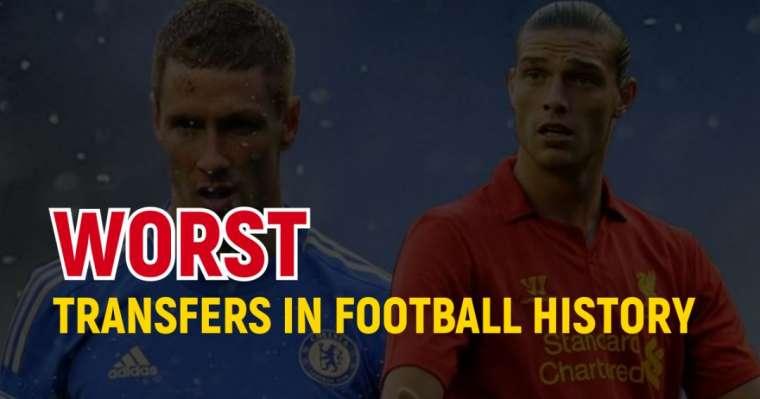Top 10 des pires transferts de l'histoire du football