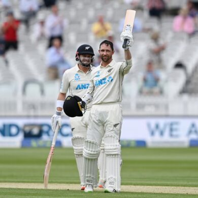 ENG vs NZ 1st Test, Day 1: Conway frappe une tonne dès ses débuts;  Total néo-zélandais 246/3
