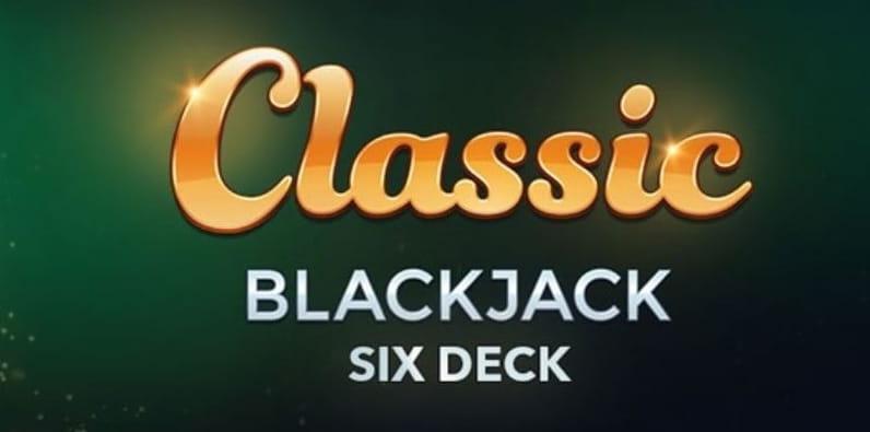 Blackjack classique Six Deck de Microgaming