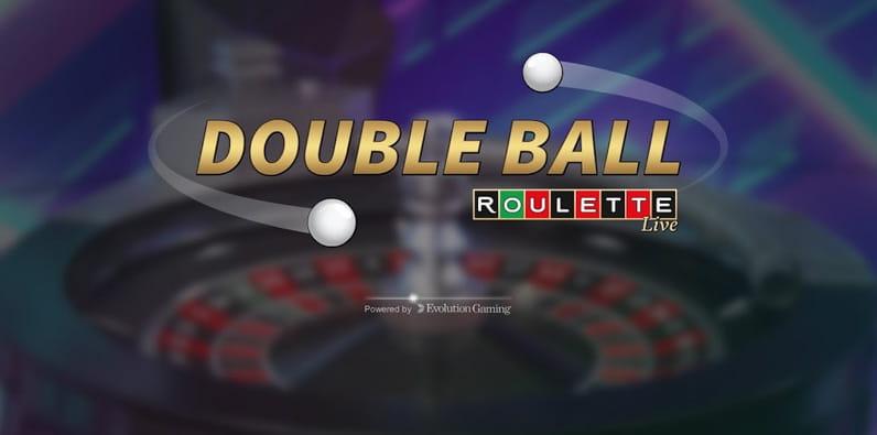 Double Ball Live Roulette par Evolution