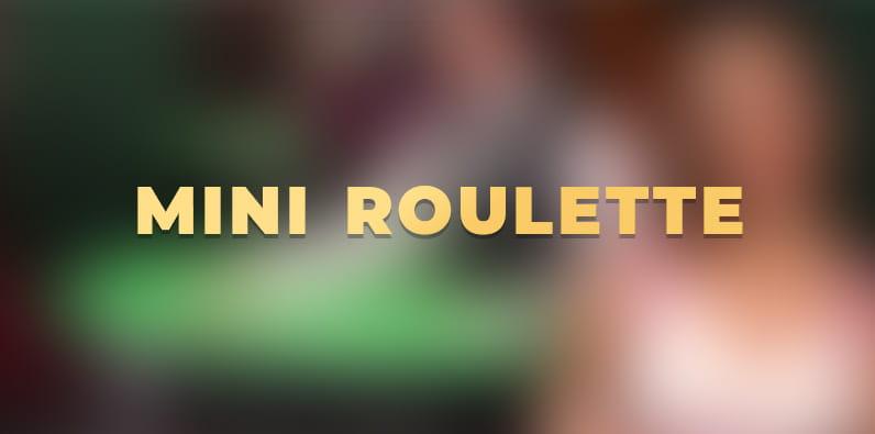 Mini Roulette Live par Evolution