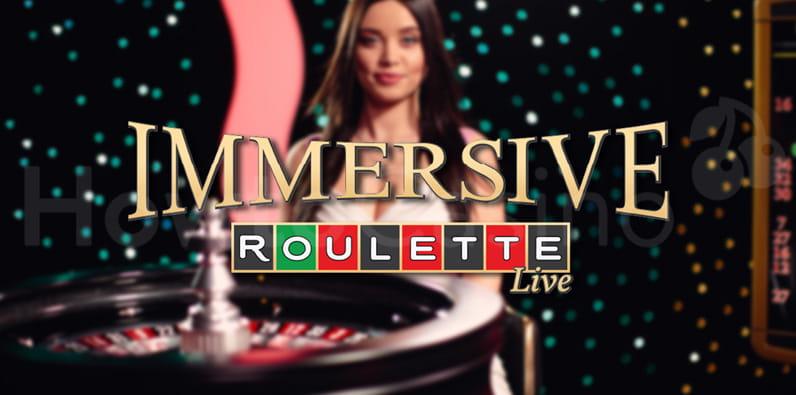 Roulette immersive par Evolution