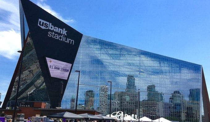 Stade de la banque américaine des Vikings du Minnesota