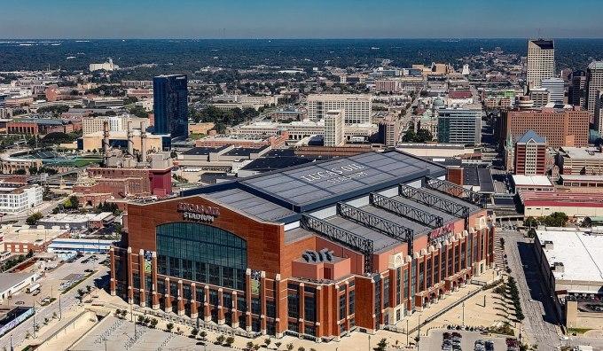 Le champ pétrolifère Lucas des Colts d'Indianapolis