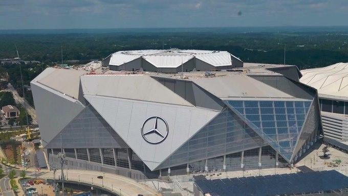 Stades les plus bruyants de la NFL - Stade Mercedes Benz - Saints de la Nouvelle-Orléans