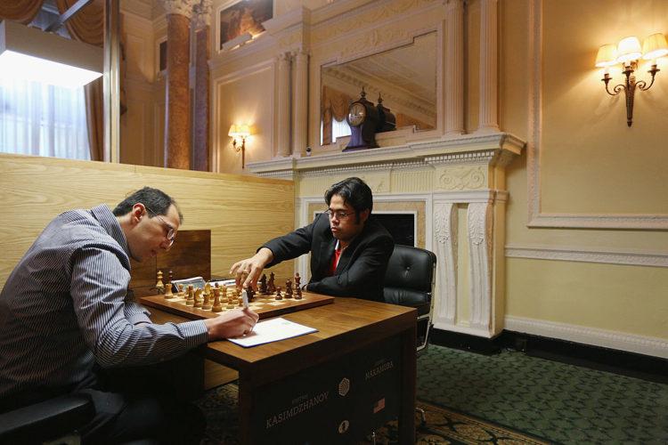 Hikaru Nakamura et Rustam Kasimdzhanov
