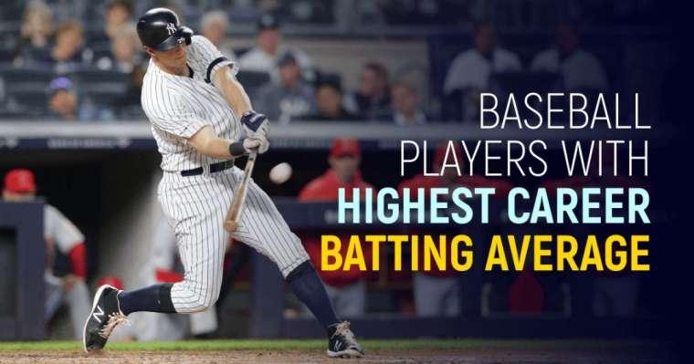 Top 10 des joueurs de baseball avec la moyenne au bâton en carrière la plus élevée