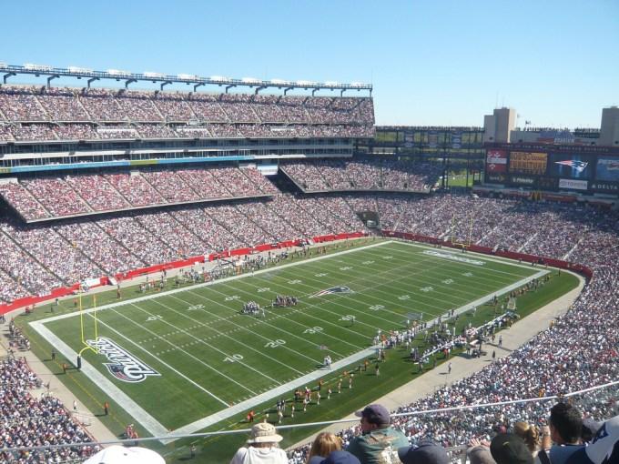 Stade Gillette (New England Patriots)