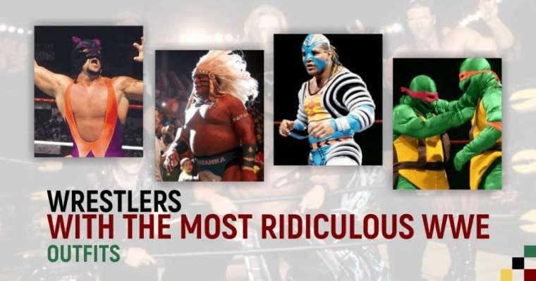 Top 10 des lutteurs avec les tenues les plus ridicules de la WWE
