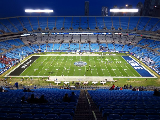 Le plus grand stade de la NFL – Bank of America Stadium