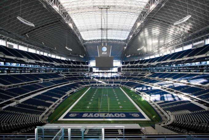Plus grand stade de la NFL – Cowboys de Dallas, stade AT&T