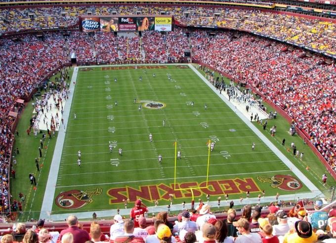 Le plus grand stade de la NFL – FedEx Field