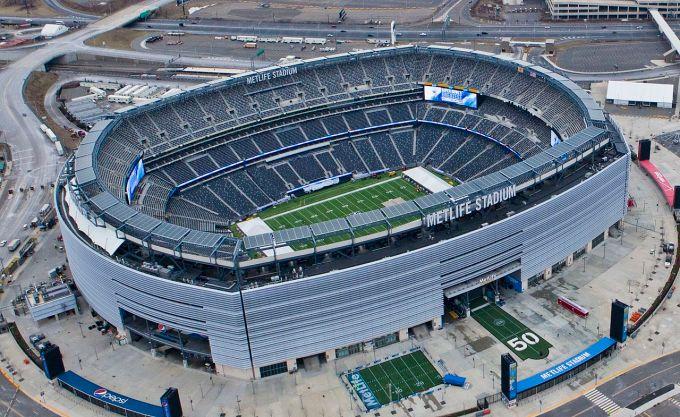 Le plus grand stade de la NFL – MetLife Stadium