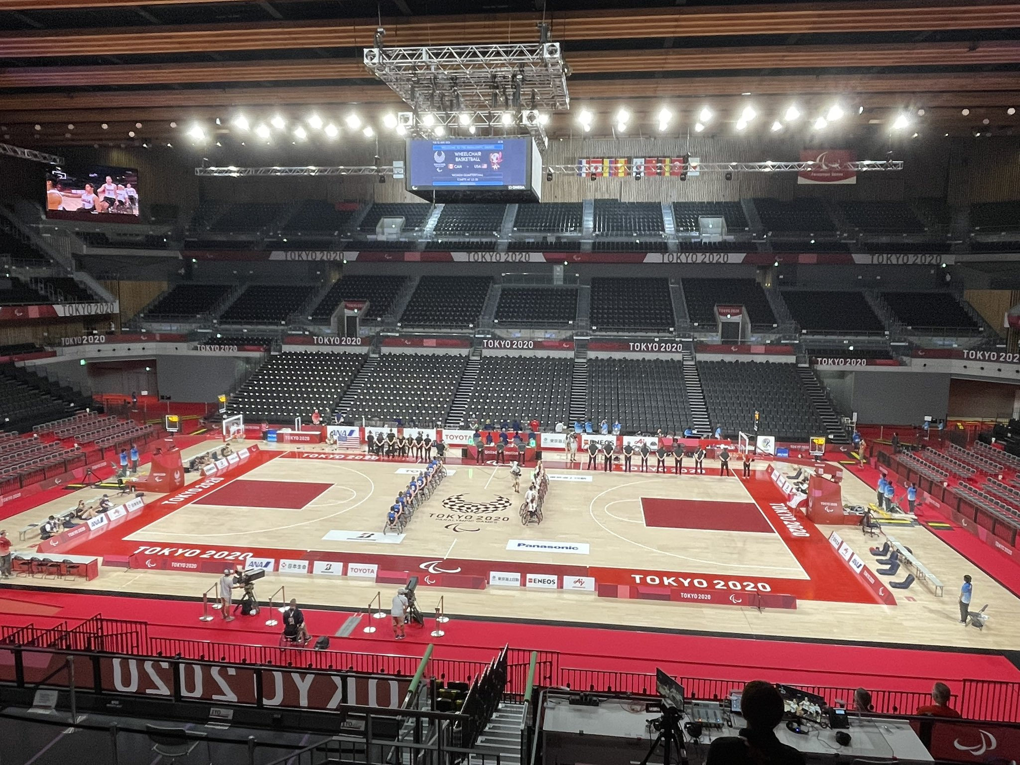 TOKYO 2020 : le Canada affronte les États-Unis au championnat féminin de basketball en fauteuil roulant