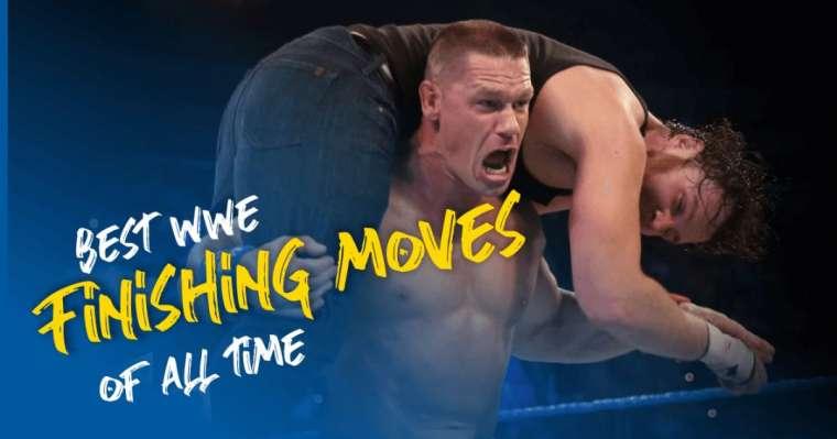 Top 10 des meilleurs mouvements de finition de la WWE de tous les temps